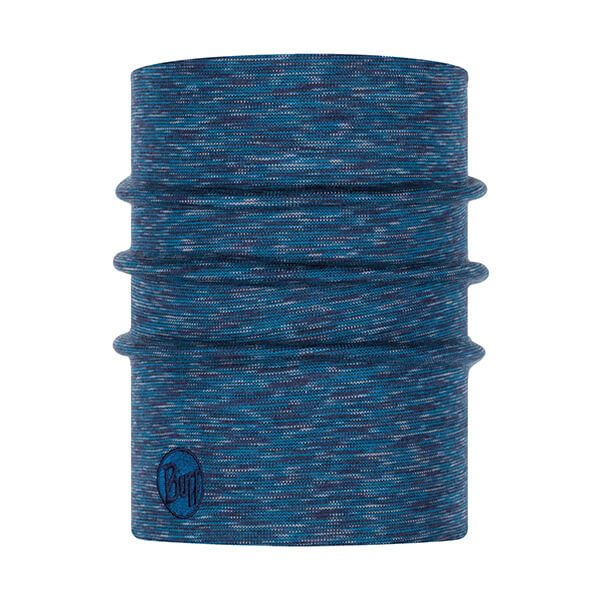 Buff Heavyweight Merino Wool Lake Blue Multi Stripes Neckwear