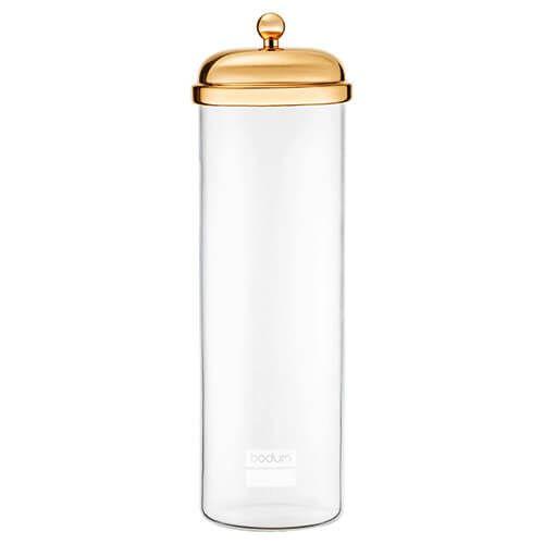 Bodum 2.0L Tall Classic Storage Jar Gold
