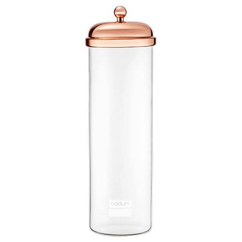 Bodum 2.0L Tall Classic Storage Jar Copper