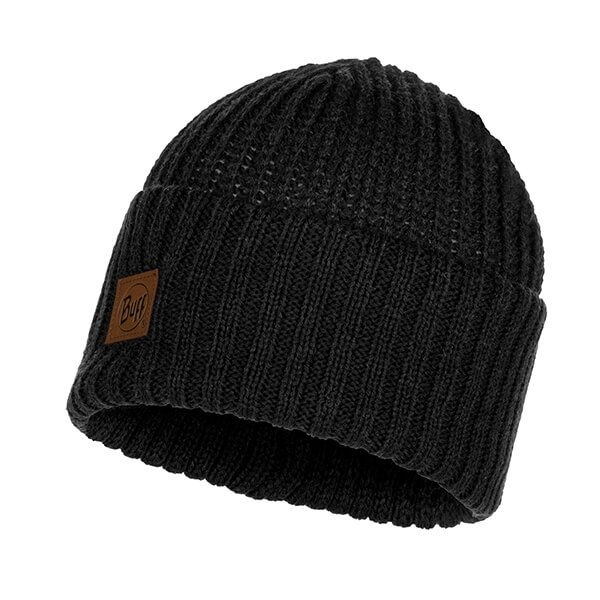 Buff Rutger Graphite Knitted Hat