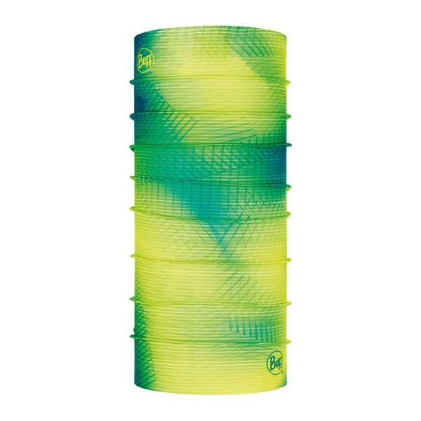 Buff Original Spiral Yellow Fluor Tubular Neckwear