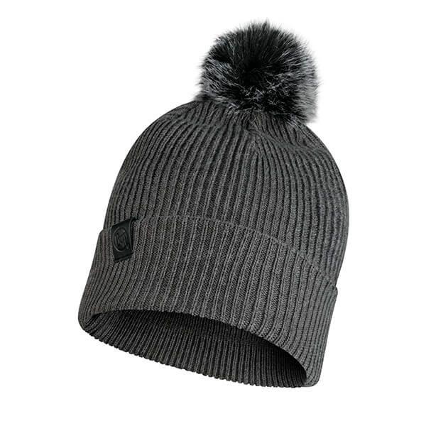 Buff Kesha Rosewood Grey Knitted Hat