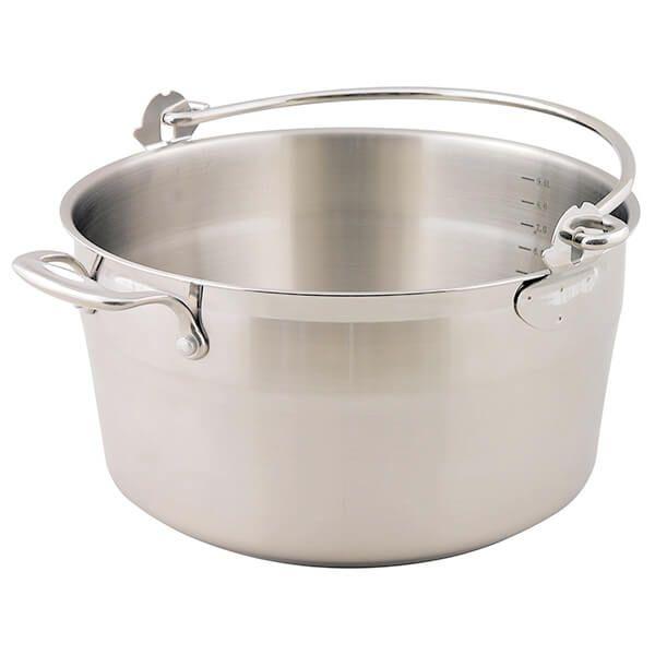 Dexam Supreme 30cm, 9.0L Jam / Preserving Pan With Bucket-Style Handle