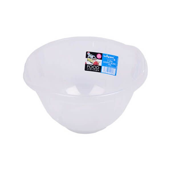 Wham Cuisine 2L Clear Mixing Bowl