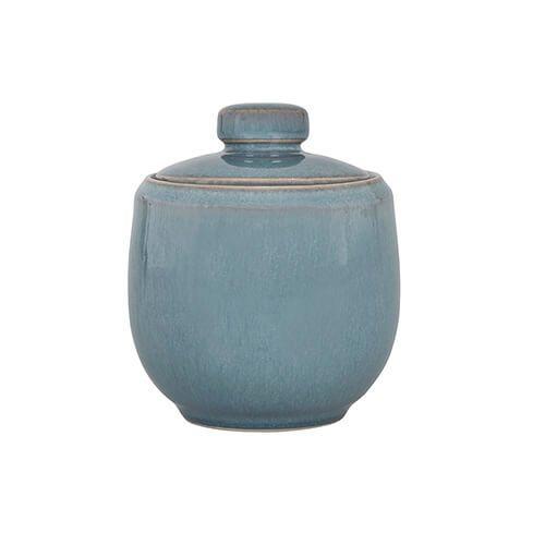 Denby Azure Covered Sugar Bowl