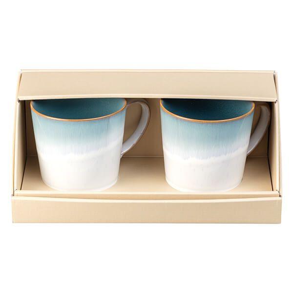 Denby Azure Haze 2 Piece Large Mug Set