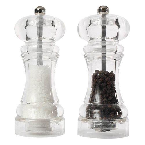 T&G Capstan Acrylic 145mm Salt and Pepper Mill Set