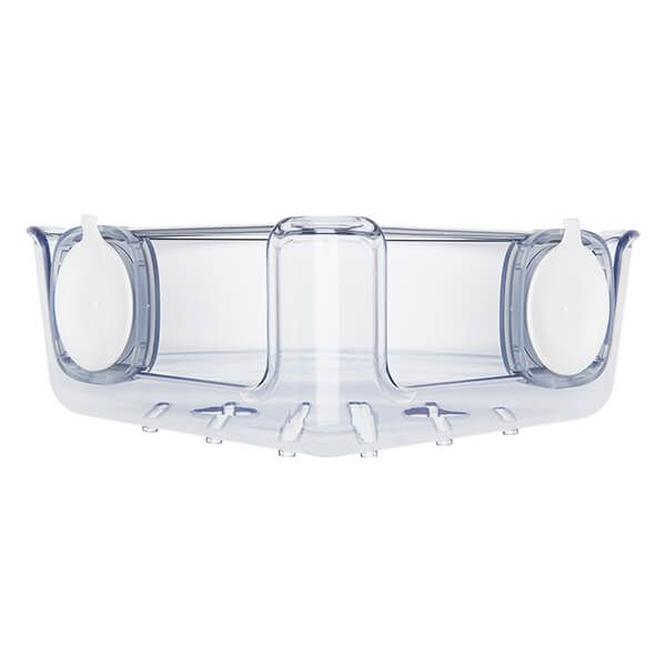 OXO Good Grips Suction Corner Shower Basket
