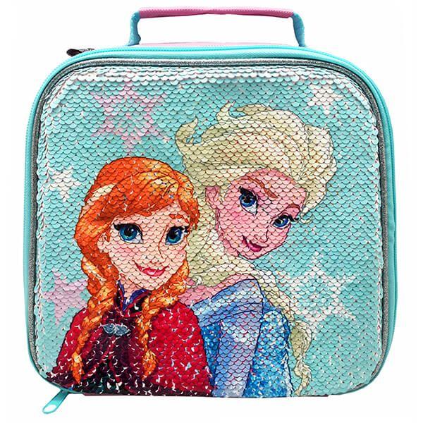 Disney Frozen Shimmer Sequin Lunch Bag