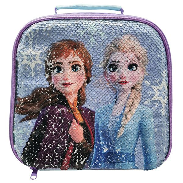 Disney Frozen 2 Sequin Lunch Bag