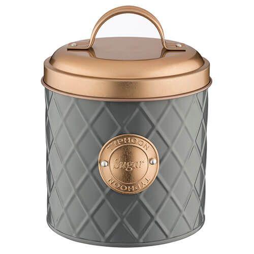 Typhoon Copper Lid Coffee Sugar Tea Storage Set