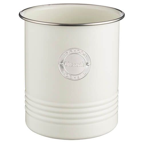 Typhoon Living Cream Utensil Pot