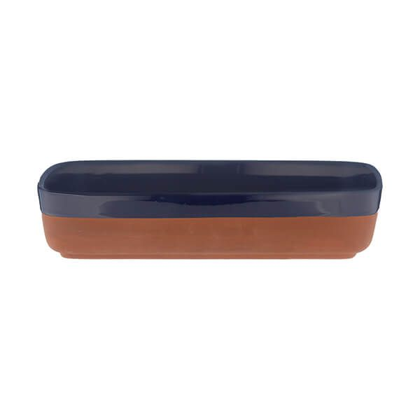 Typhoon World Foods 29 x 19cm Rectangular Dish Navy