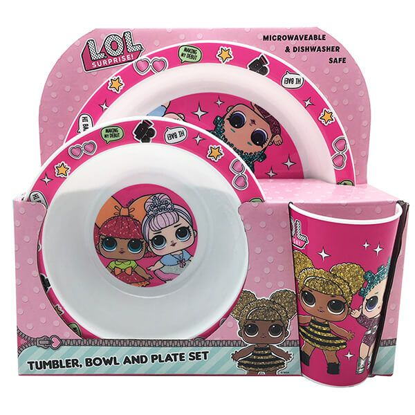 LOL Surprise 3 Piece Tableware Set