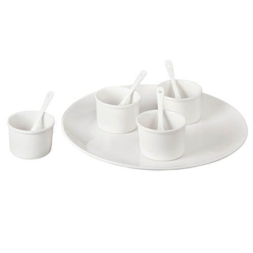 James Martin Denby Gastro 9 Piece Serving Kit