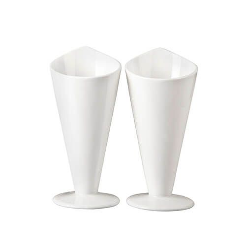 James Martin Denby Gastro 2 Piece Chip Cone Kit