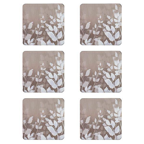 Denby Colours Natural Foliage Coasters Set Of 6