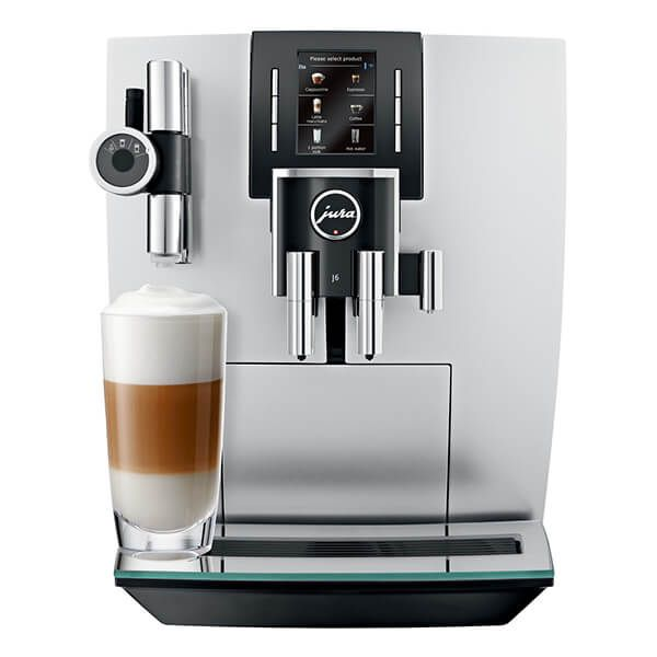Jura J6 Brilliant Silver Automatic Coffee Machine