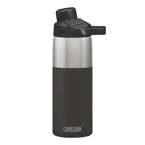 CamelBak 600ml Chute Mag Jet Black Vacuum Insulated Water Bottle