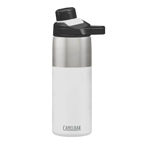 CamelBak 600ml Chute Mag White Vacuum Insulated Water Bottle