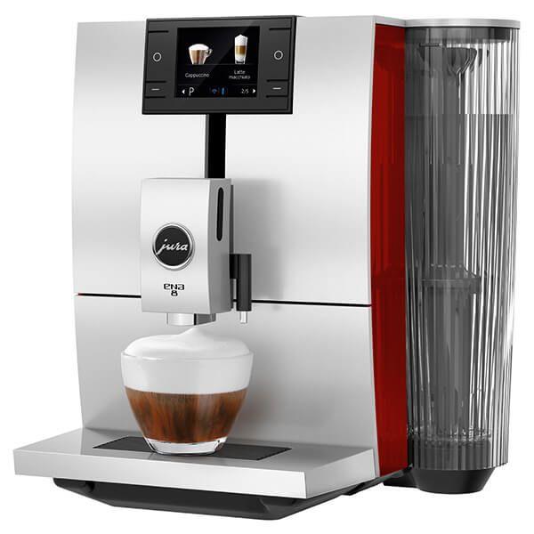 Jura ENA 8 Sunset Red Automatic Coffee Machine