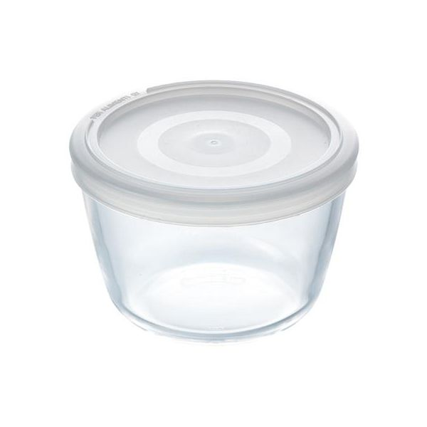 Pyrex Cook & Freeze 0.6L Round Dish with Lid
