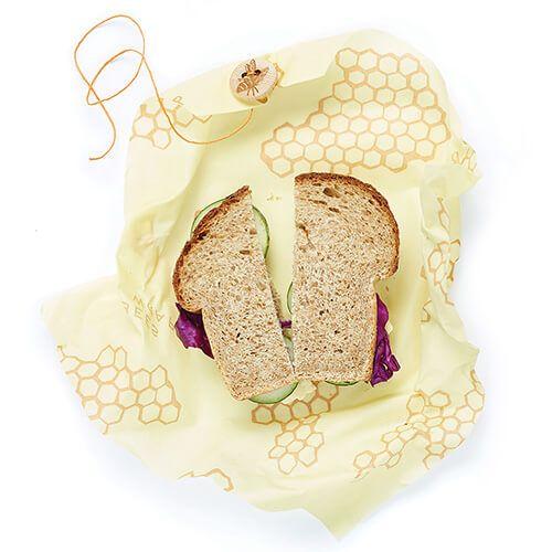 Bee's Wrap Honeycomb Print Sandwich Wrap 33 x 33cm