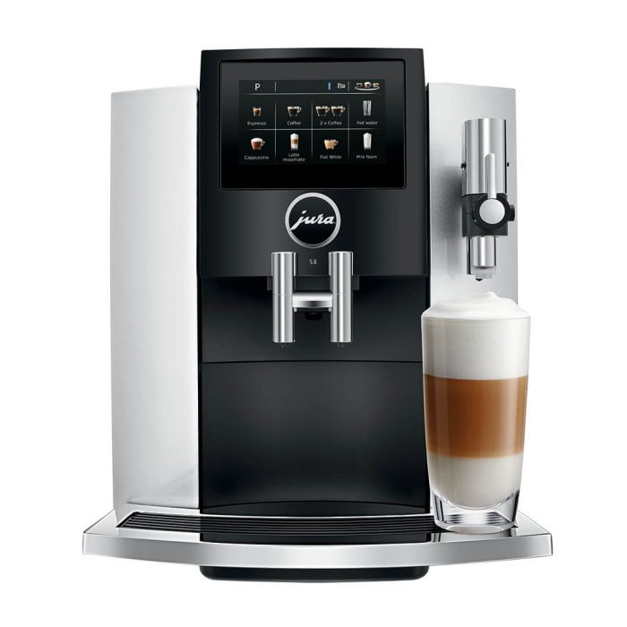 Jura S8 Silver Coffee Machine