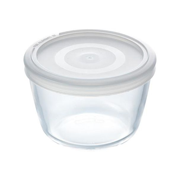 Pyrex Cook & Freeze 1.1L Round Dish with Lid