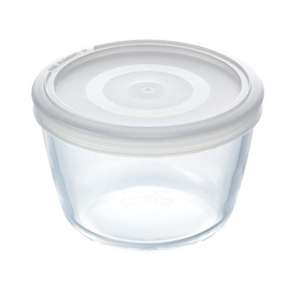 Pyrex Cook & Freeze 1.6L Round Dish with Lid