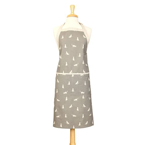 Dexam Vintage Happy Cats Apron Slate