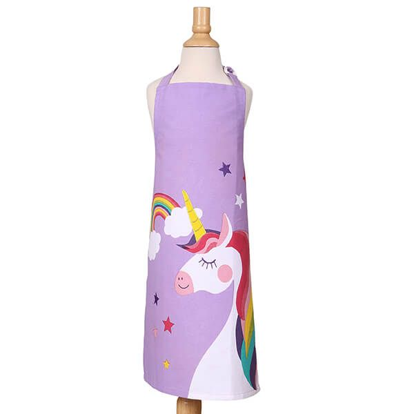 Dexam Unicorn Childrens Apron Lilac