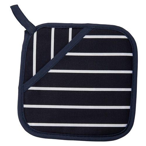 Dexam Rushbrookes Classic Butchers Stripe Pot Grab Blue