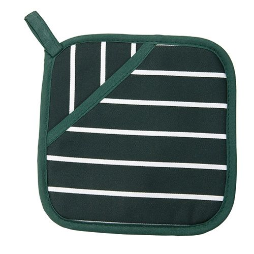 Dexam Rushbrookes Classic Butchers Stripe Pot Grab Green