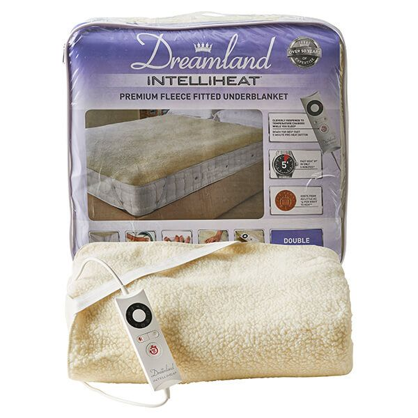 Dreamland Intelliheat Soft Fleece Easy Fitted Underblanket Double