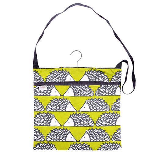 Scion Living Spike Wipe Clean Green Peg Bag
