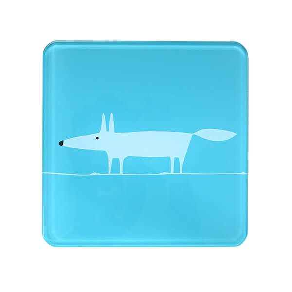 Scion Living Mr Fox Teal Hot Pot Stand