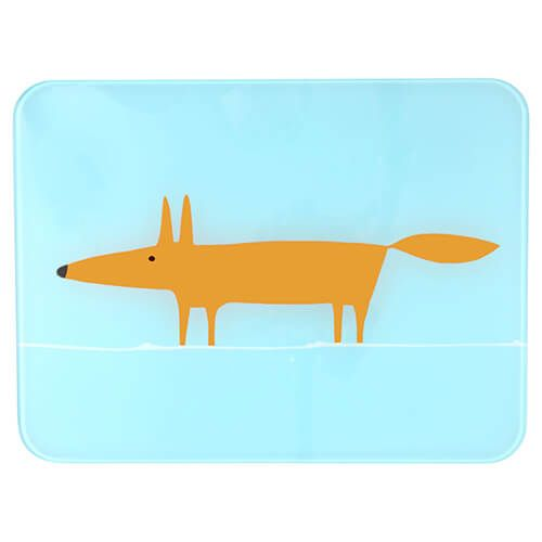 Scion Living Mr Fox Blue Worktop Saver