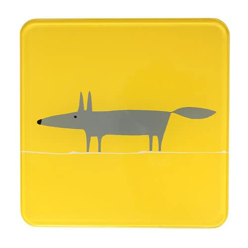 Scion Living Mr Fox Yellow Hot Pot Stand