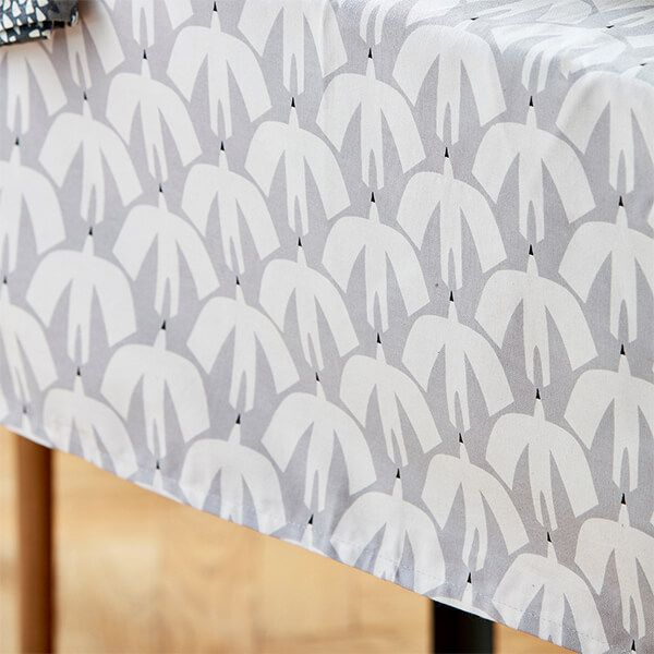 Scion Living Pajaro Grey Tablecloth 140 x 180cm