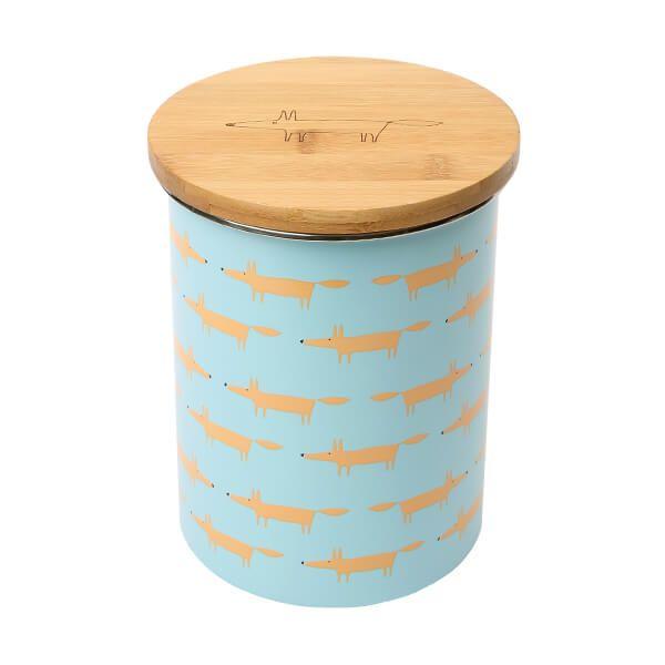 Scion Living Mr Fox Biscuit Storage Jar Blue
