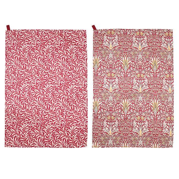 Morris & Co Snakeshead Tea Towels