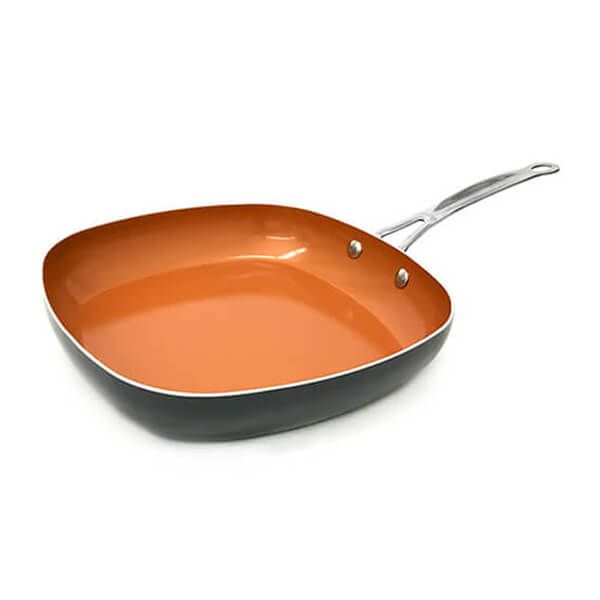 Gotham Steel 28cm Non-Stick Shallow Square Pan
