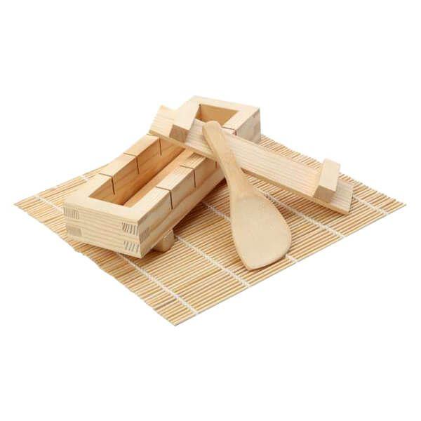 Dexam Sushi Kit with Mat/Paddle/Pressboard