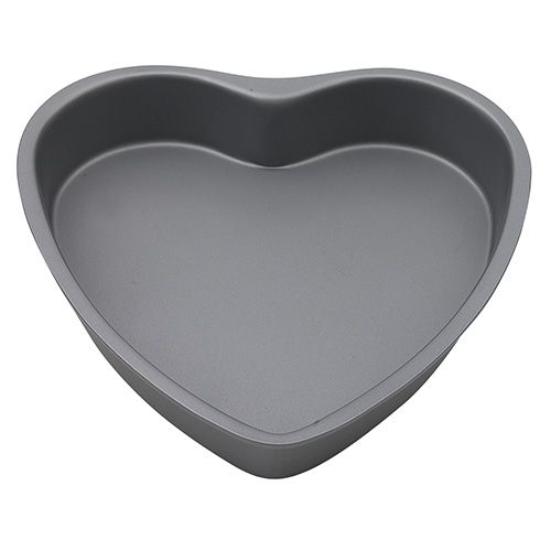 Dexam Bakers Pride Non-Stick Heart Shaped Cake Pan, 20cm