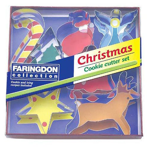 Dexam Swift 7 Piece Christmas Cookie Cutter Set