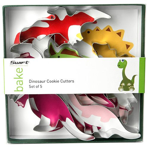 Dexam Dinosaur Cookie Cutter Set
