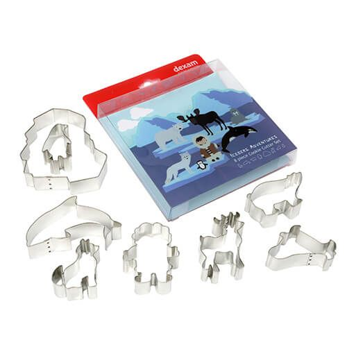 Dexam Iceberg 8 Piece Cookie Cutter Set