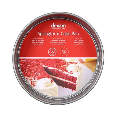 Dexam Bakers Pride Non-Stick 24cm Springform Cake Pan