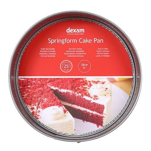 Dexam Bakers Pride Non-Stick 28cm Springform Cake Pan